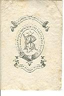 "John Farley Rutter Bookplate. Quaker Literature: ""Hidden Things Revealed and Brought to Light...."