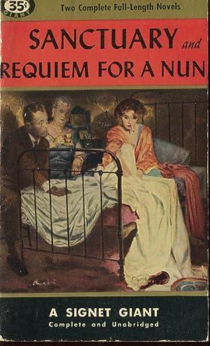 Sanctuary and Requiem For a Nun.: Faulkner, William.