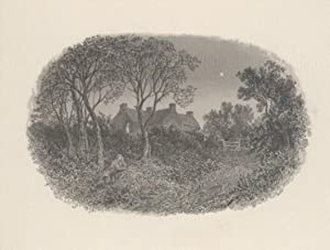 Cottage and Surrounding Landscape at Night: Bough Samuel