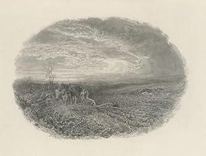 Ploughman Working the Land: Bough Samuel
