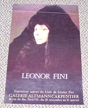 Exposition autour du Livre de Leonor Fini: Fini, Leonor