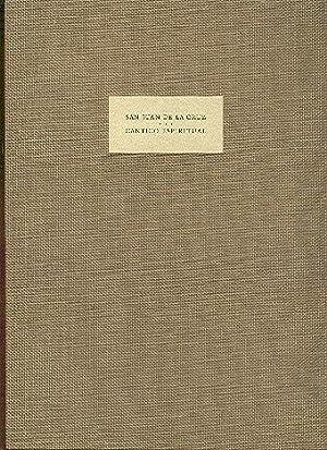 San Juan De La Cruz Cantico Espiritual: BARNSTONE, Willis (translator)