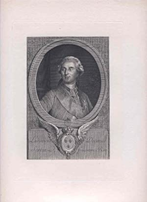 Ludovicus Decimus Sextua francorum Rex. Portrait of Louis XVI. [Photomechanical Reproduction of an ...