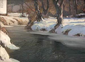 Winter's Glory. George Ames Aldrich. [Color Print of a George Ames Aldrich Painting, Distributed by...