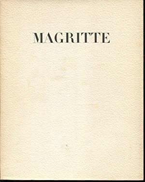 Magritte Le Sens Propre (exhibition catalogue): Breton, Andre (Alexandre