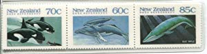 Postage Stamp Bookmark from New Zealand