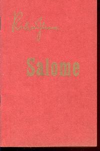 Salome Drama in einem aufzuge nach Oskar: Strauss, Richard.