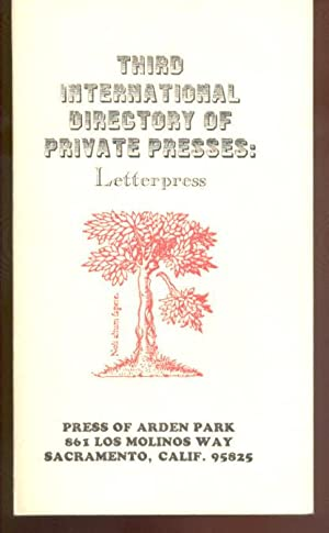 Third International Directory of Private Presses