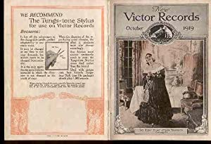 New Victor Records October 1919. [Record Catalogue].: Victor Talking Machine Company.