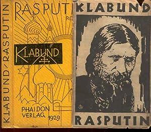 Rasputin [Roman] von Klabund.: Klabund (Alfred Henschke;