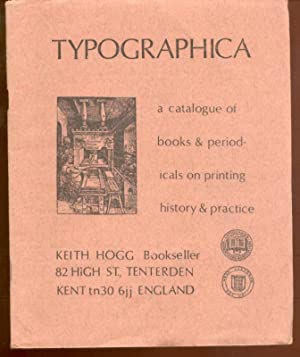 Typographica: a catalogue of books and periodicals