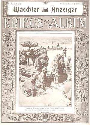 Waechter Und Anzeiger Kriegs Album Vol. I,