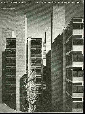 Louis I. Kahn, Architect. Alfred Newton Richards: Green, Wilder &