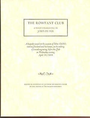 The Rowfant Club A Wood Engraving by: DePol, John