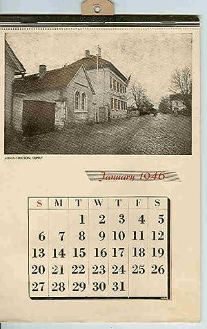 Stars & Stripes Photographic Calendar for 1946.: Stars & Stripes (Newspaper).