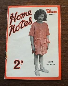 Home Notes No 1534 Vol 118 June: Not Known