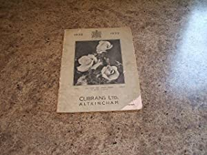 Clibrans Superb British-Grown Roses For 1932-33