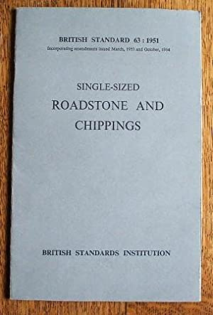 SINGLE SIZED ROADSTONE AND CHIPPINGS - BRITISH: UNKNOWN AUTHOR