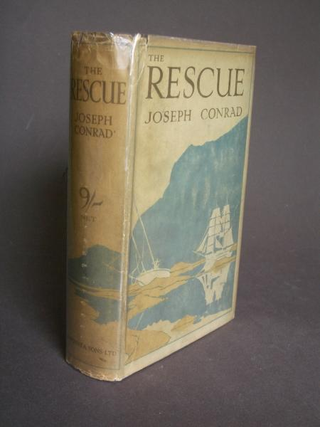 The Rescue A Romance Of The Shallows By Conrad Joseph J M Dent