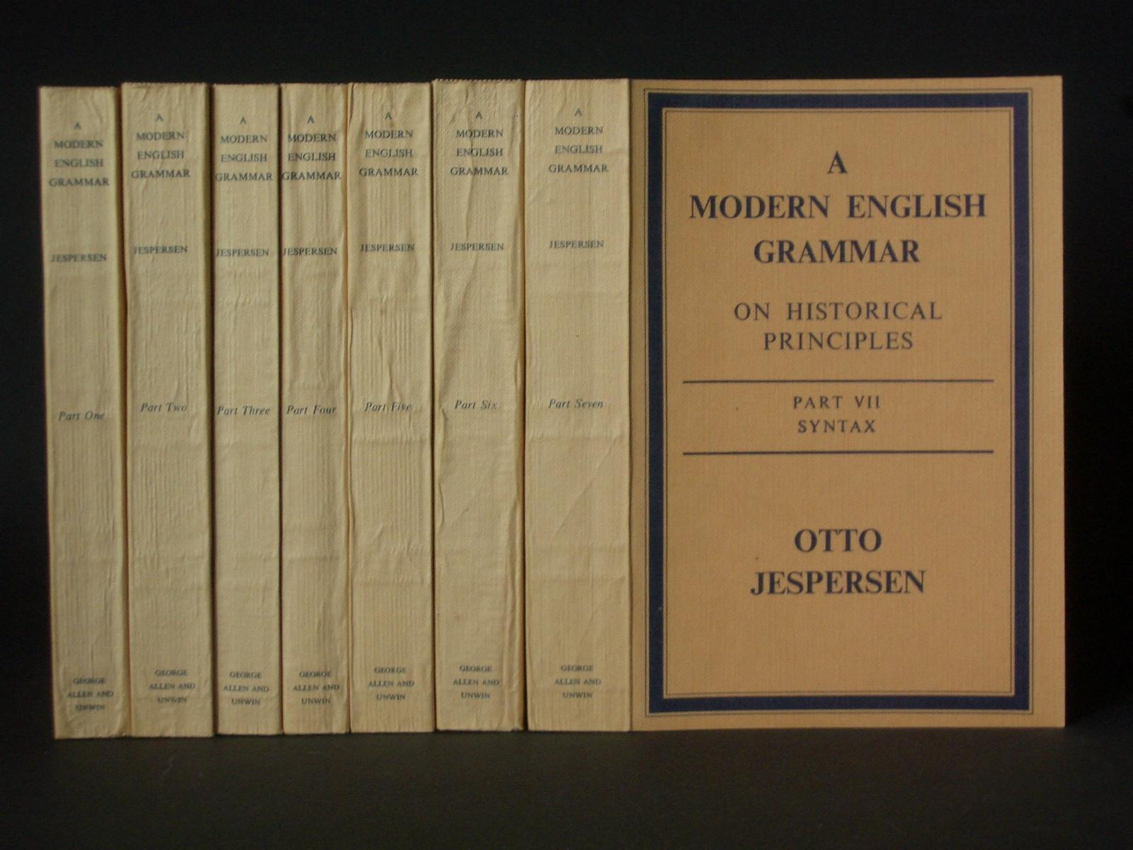 JESPERSEN MODERN ENGLISH GRAMMAR EBOOK