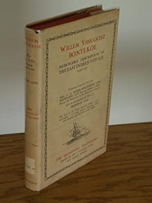 Memorable Description of the East Indian Voyage: Bontekoe, Willem Ysbrantsz