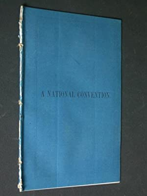 A National Convention. [To the Members of the Kentucky Legislature.]