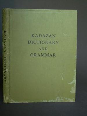 Kadazan-English and English-Kadazan Dictionary: Antonissen, A.; compiler