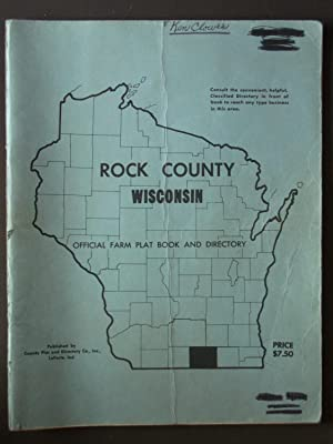 Rock County Wisconsin Official Farm Plat Book: Anonymous