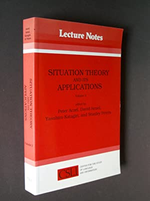 Situation Theory and its Applications Volume #3 [CSLI Lecture Notes No. 37]