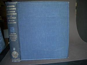 TRACTATUS De Bello, Re Represaliis et De: da Legnano Giovanni;