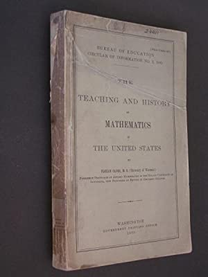 The Teaching and History of Mathematics in the United States