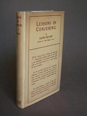 Lessons in Conjuring: Devant, David