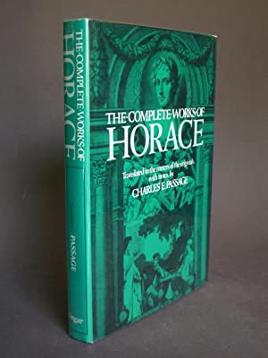 The Complete Works of Horace (Quintus Horatius Flaccus)