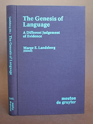 The Genesis of Language: A Different Judgement of Evidence