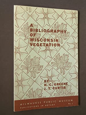 A Bibliography of Wisconsin Vegetation