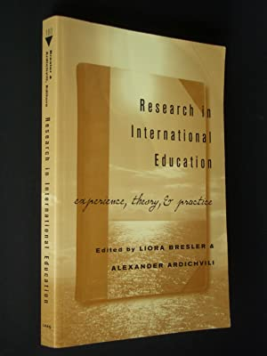 Research in International Education: Experience, Theory, & Practice
