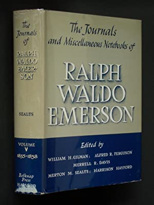 The Journals and Miscellaneous Notebooks of Ralph Waldo Emerson Volume V 1835-1838