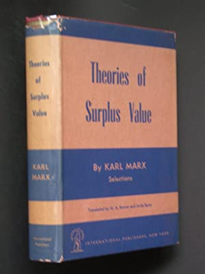Theories of Surplus Value: Selections