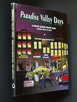 Paradise Valley Days: A Photo Album Poetry Book of Black Detroit, 1930's to 1950's