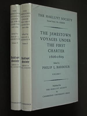 The Jamestown Voyages Under the First Charter 1606-1609 [two volumes complete]