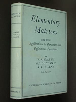 Elementary Matrices and some Applications to Dynamics and Differential Equations