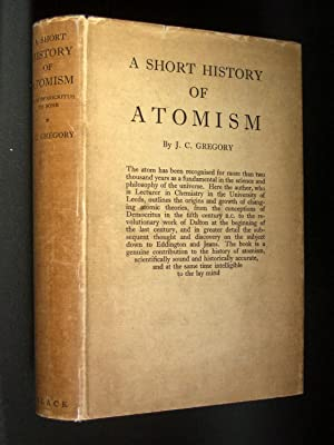A Short History of Atomism from Democritus to Bohr