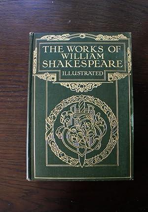 The works of William Shakspeare. Illustrated. Mr: Shakespeare