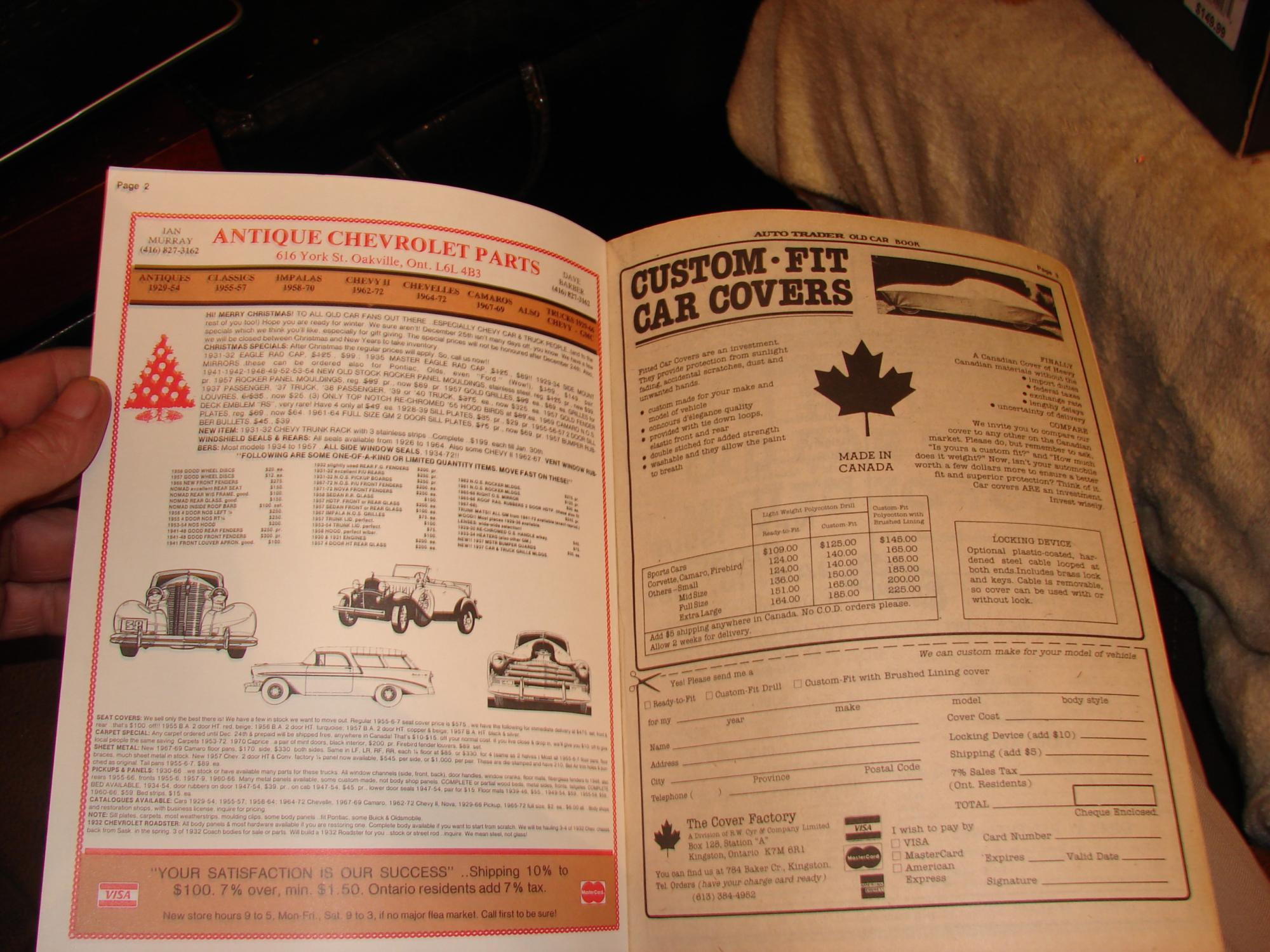 The Canadian Old Car Trader by Car Trader: Car Trader Dec 1984 Jan ...