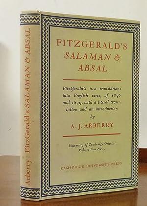 Fitzgerald's Salaman & Absal: Arberry, A.J.