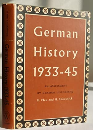 German History 1933-45, An Assessment by German Historians