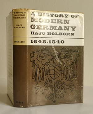 A History of Modern Germany 1648-1840