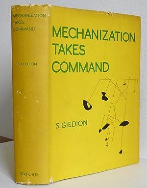Mechanization Takes Command: Giedion, S.