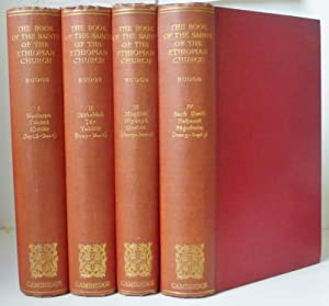 The Book of the Saints of the: Budge, Sir E.A.