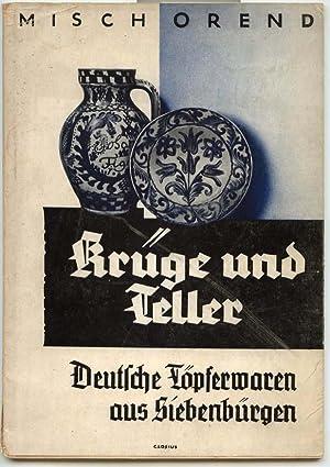 Kruge Und Teller, Deutsches Topferwaren Aus Siebenburgen: Orend, Misch
